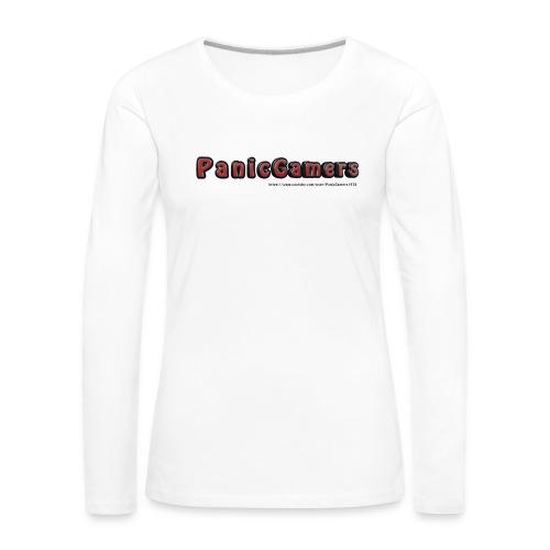 Cover PanicGamers - Maglietta Premium a manica lunga da donna