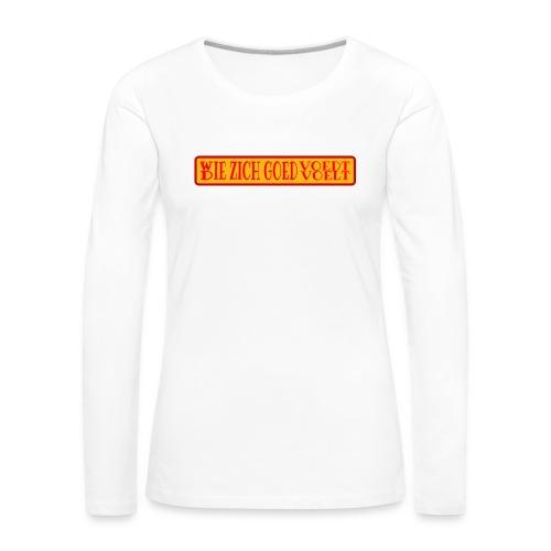 wie en die png - Women's Premium Longsleeve Shirt