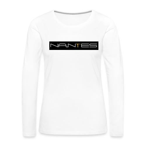NanTes - T-shirt manches longues Premium Femme