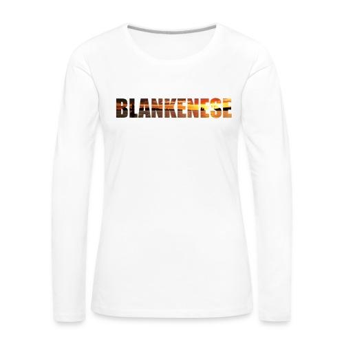 Blankenese Hamburg - Frauen Premium Langarmshirt