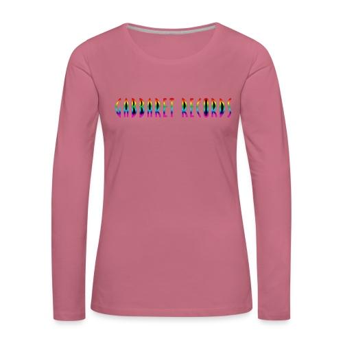 gabbaretr png - Vrouwen Premium shirt met lange mouwen