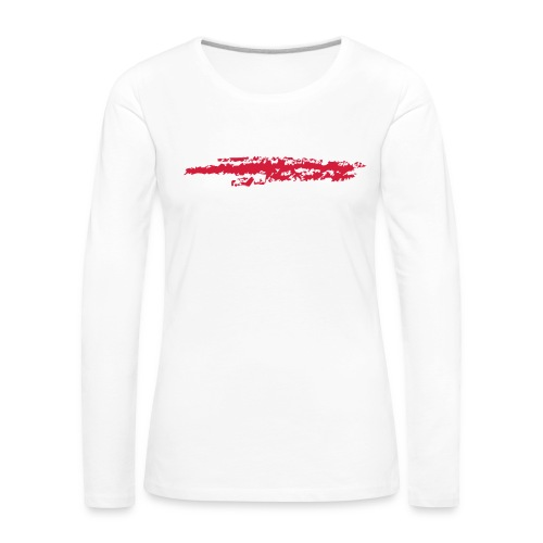 Linie_03 - Frauen Premium Langarmshirt