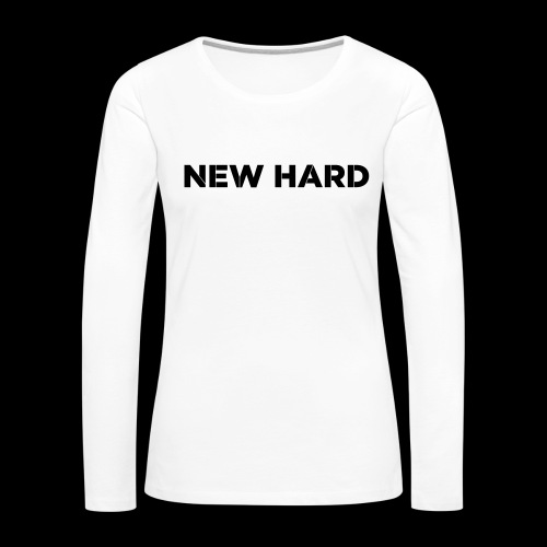NAAM MERK - Vrouwen Premium shirt met lange mouwen