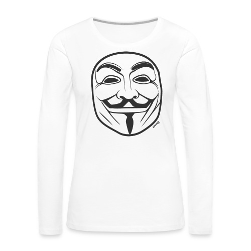*NEW* Anonymous (H) - T-shirt manches longues Premium Femme