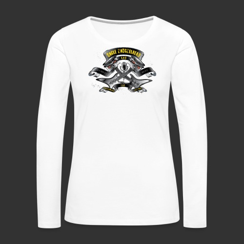 screaming pistons - Vrouwen Premium shirt met lange mouwen