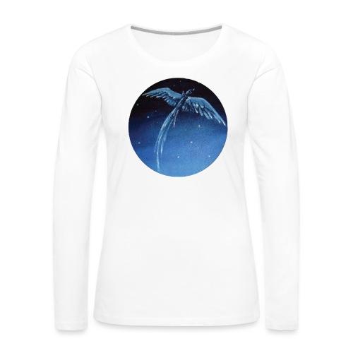 Oiseau Bleu 1 - T-shirt manches longues Premium Femme