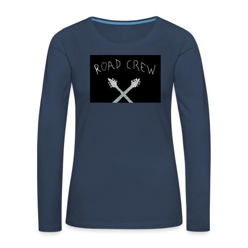 Road_Crew_Guitars_Crossed - Women's Premium Longsleeve Shirt