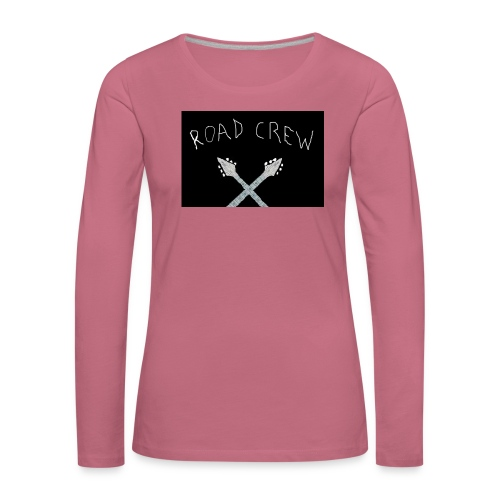 Road_Crew_Guitars_Crossed - Women's Premium Longsleeve Shirt