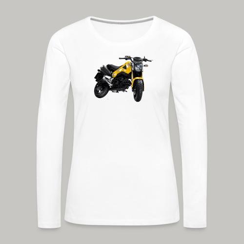 Grom Motorcycle (Monkey Bike) - Women's Premium Longsleeve Shirt