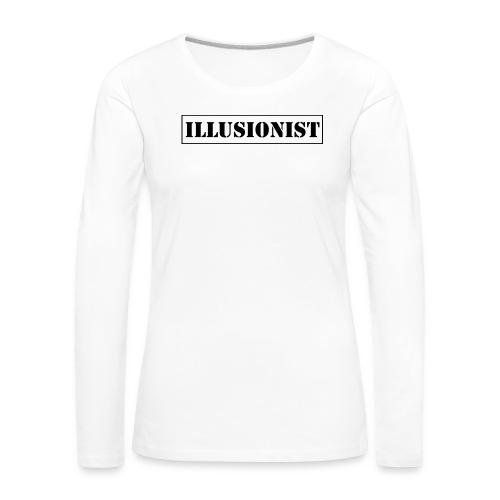 Illusionist - Women's Premium Longsleeve Shirt