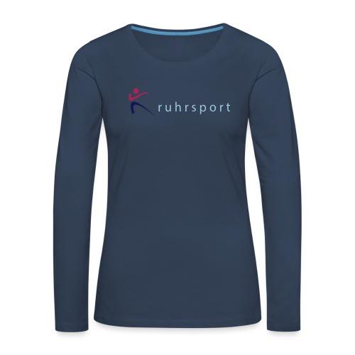 ruhrsport - Frauen Premium Langarmshirt