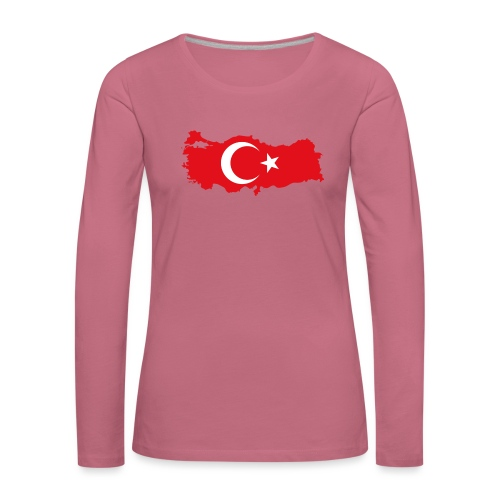 Tyrkern - Dame premium T-shirt med lange ærmer