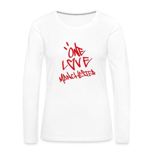 One love Manchester - Women's Premium Longsleeve Shirt