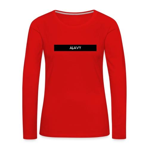 Alavy_banner-jpg - Vrouwen Premium shirt met lange mouwen