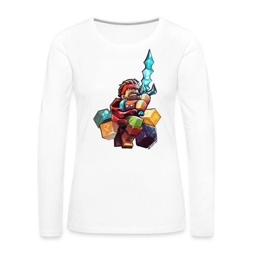 BDcraft Hero - Women's Premium Longsleeve Shirt
