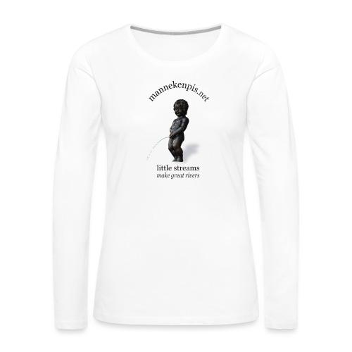 BXL ♀♂ | mannekenpis - T-shirt manches longues Premium Femme