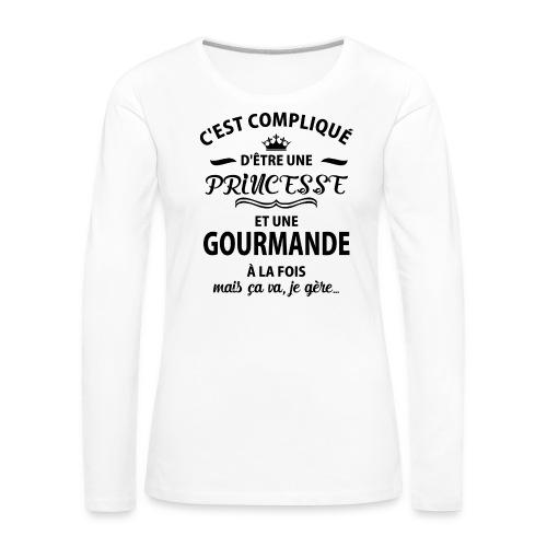 cxvxg - T-shirt manches longues Premium Femme