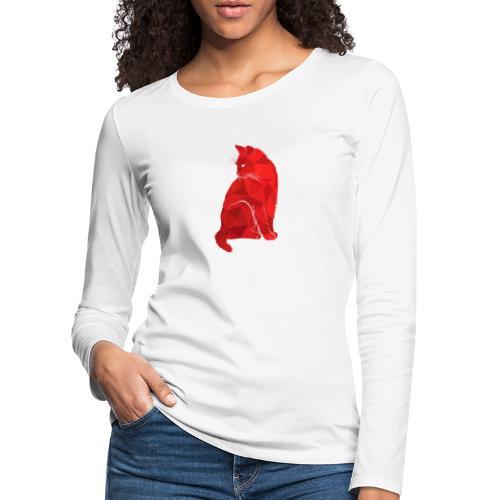 Cat - Frauen Premium Langarmshirt