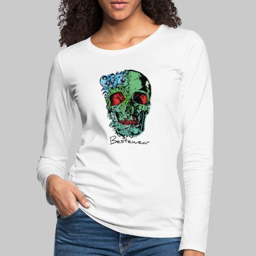 #Bestewear - Color of Dead - Frauen Premium Langarmshirt