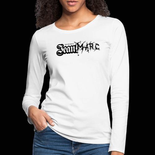 Meet Jean Marc - T-shirt manches longues Premium Femme