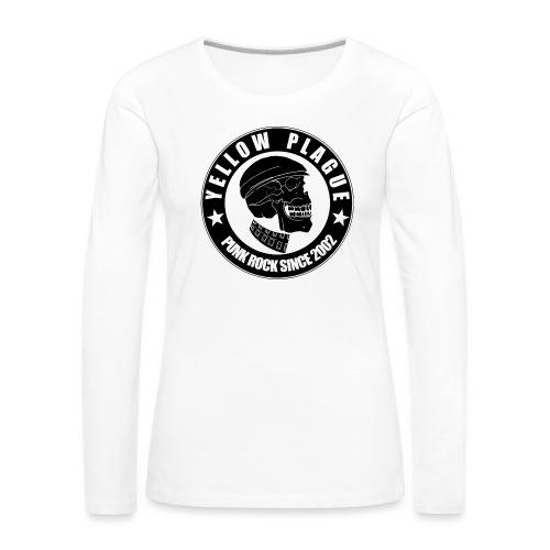 Yellow Plague - Naisten premium pitkähihainen t-paita