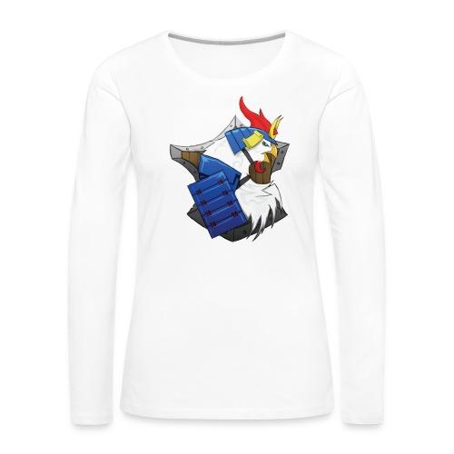back png - T-shirt manches longues Premium Femme