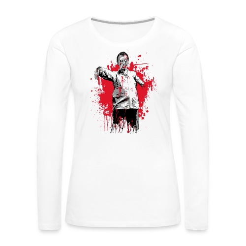 zombie - T-shirt manches longues Premium Femme