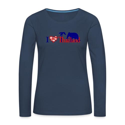 I love Thailand - Women's Premium Longsleeve Shirt