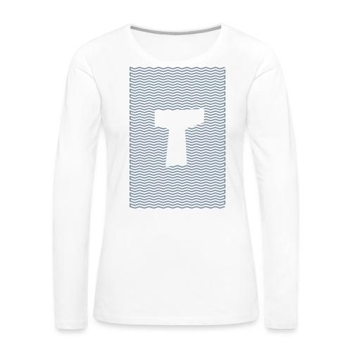 TAU VIBE - T-shirt manches longues Premium Femme