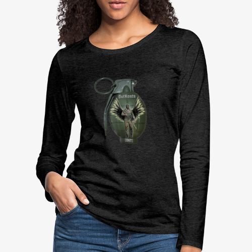 grenadearma3 png - Women's Premium Longsleeve Shirt