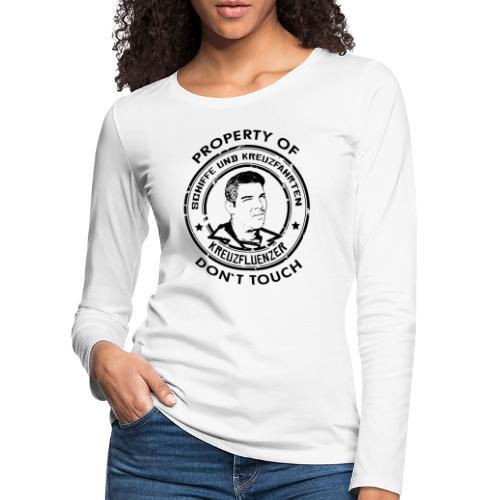 Property of your Highness RUND Black - Frauen Premium Langarmshirt
