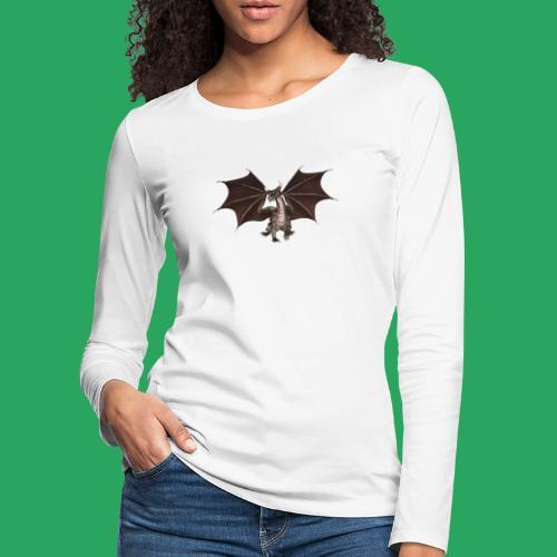 dragon logo color - Maglietta Premium a manica lunga da donna