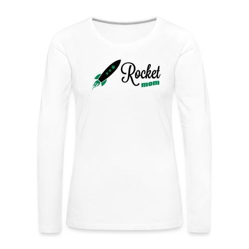 Rocketmom - Frauen Premium Langarmshirt