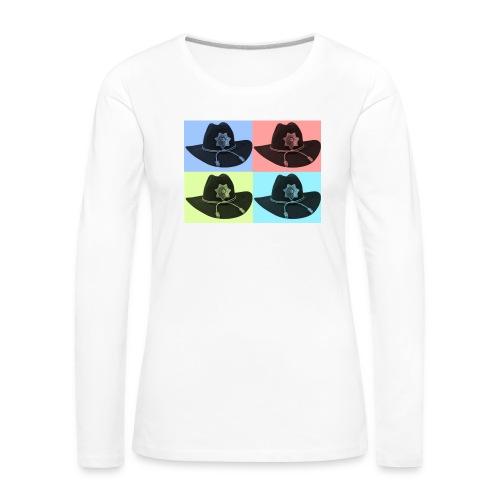 cuatro rick - Camiseta de manga larga premium mujer