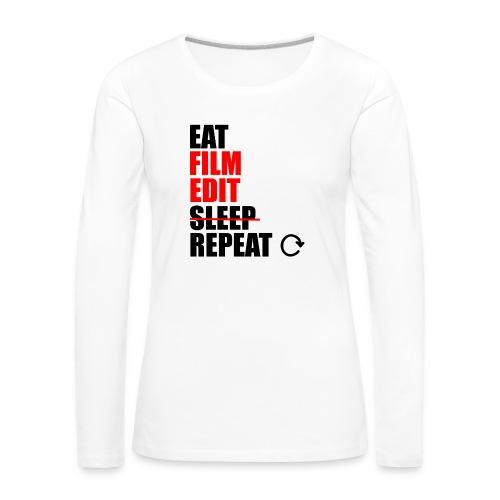 Life of a filmmaker - Frauen Premium Langarmshirt