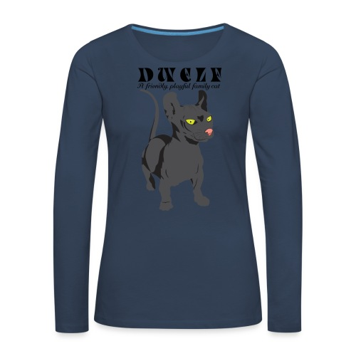 DWELF - Naisten premium pitkähihainen t-paita