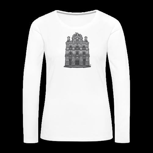 Ayuntamiento de Pamplona/Iruña - Camiseta de manga larga premium mujer