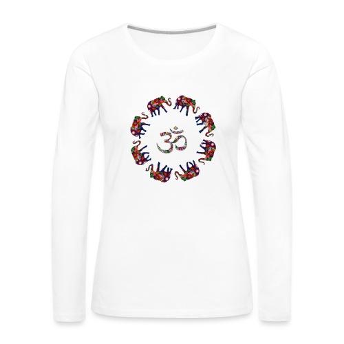 Elephant - T-shirt manches longues Premium Femme