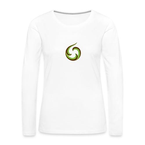 smartphone aroha - Naisten premium pitkähihainen t-paita
