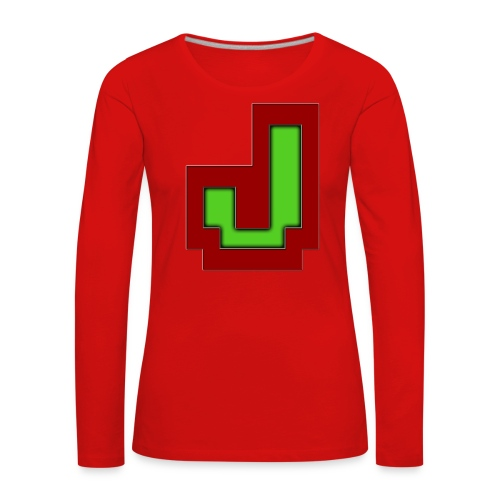 Stilrent_J - Dame premium T-shirt med lange ærmer