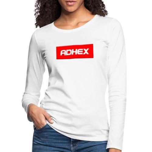 Adhex X Suprim - Camiseta de manga larga premium mujer