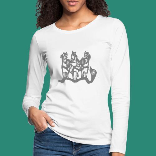 Troika - Frauen Premium Langarmshirt