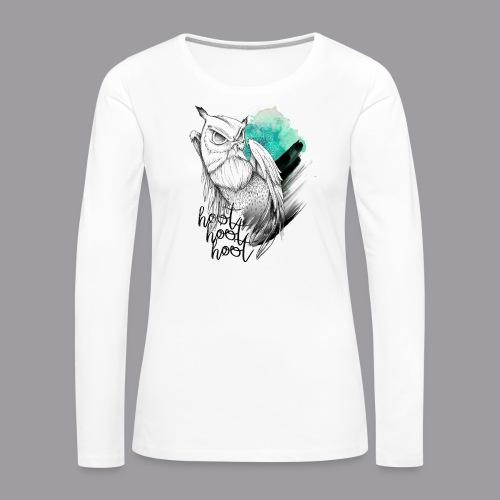 HootHoot - Frauen Premium Langarmshirt
