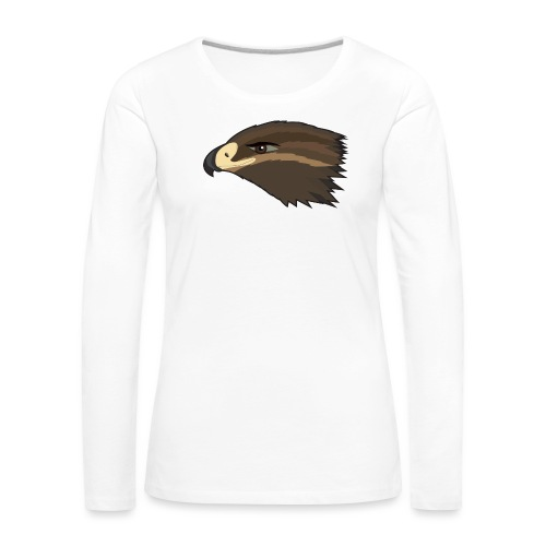 Happy Hawk - Frauen Premium Langarmshirt