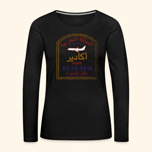 Agadir - T-shirt manches longues Premium Femme
