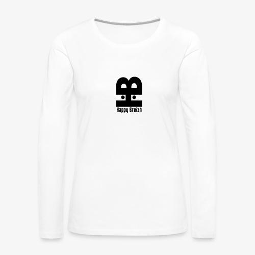 happy breizh logo - T-shirt manches longues Premium Femme
