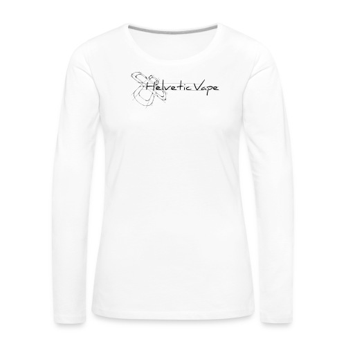 Logo TShirt Draft 1 png - T-shirt manches longues Premium Femme