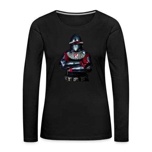 chevalier.png - T-shirt manches longues Premium Femme