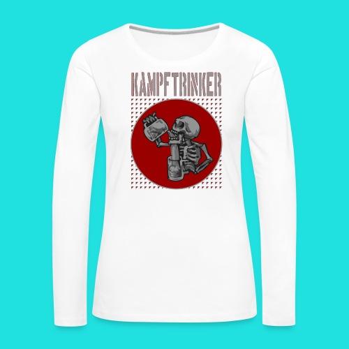 Kampftrinker - Frauen Premium Langarmshirt