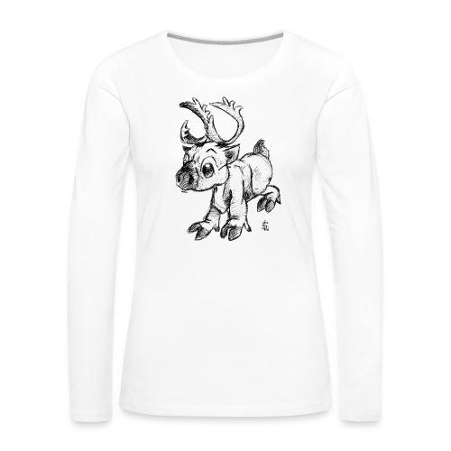 Caribou - T-shirt manches longues Premium Femme